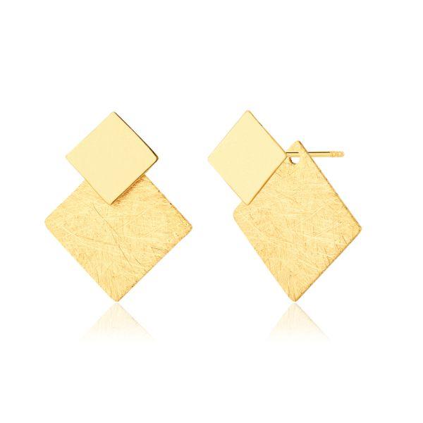 Kolczyki Kwadraty modułowe