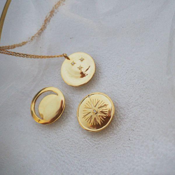Naszyjnik Noc&Dzień - rose gold